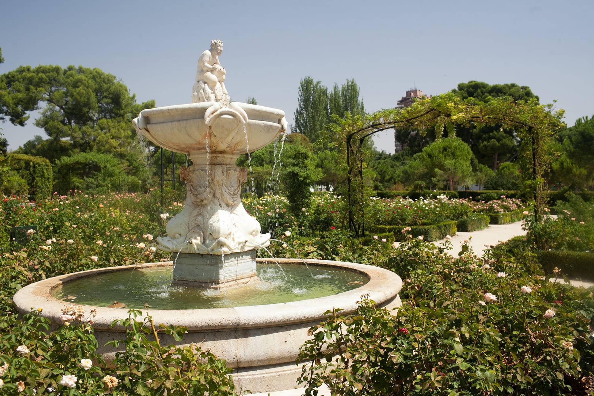Parque de el Retiro in Madrid