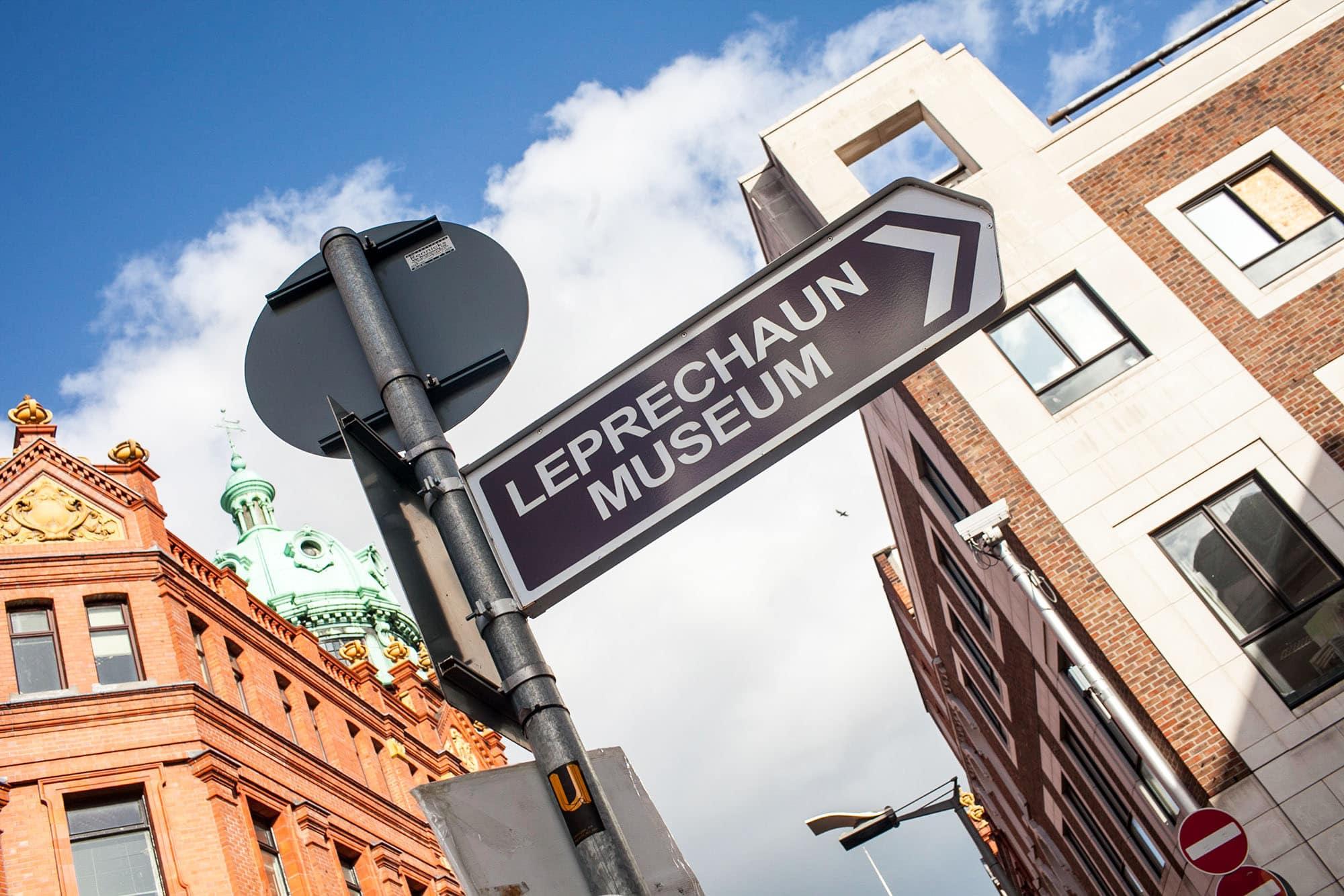 National Leprechaun Museum in Dublin, Ireland