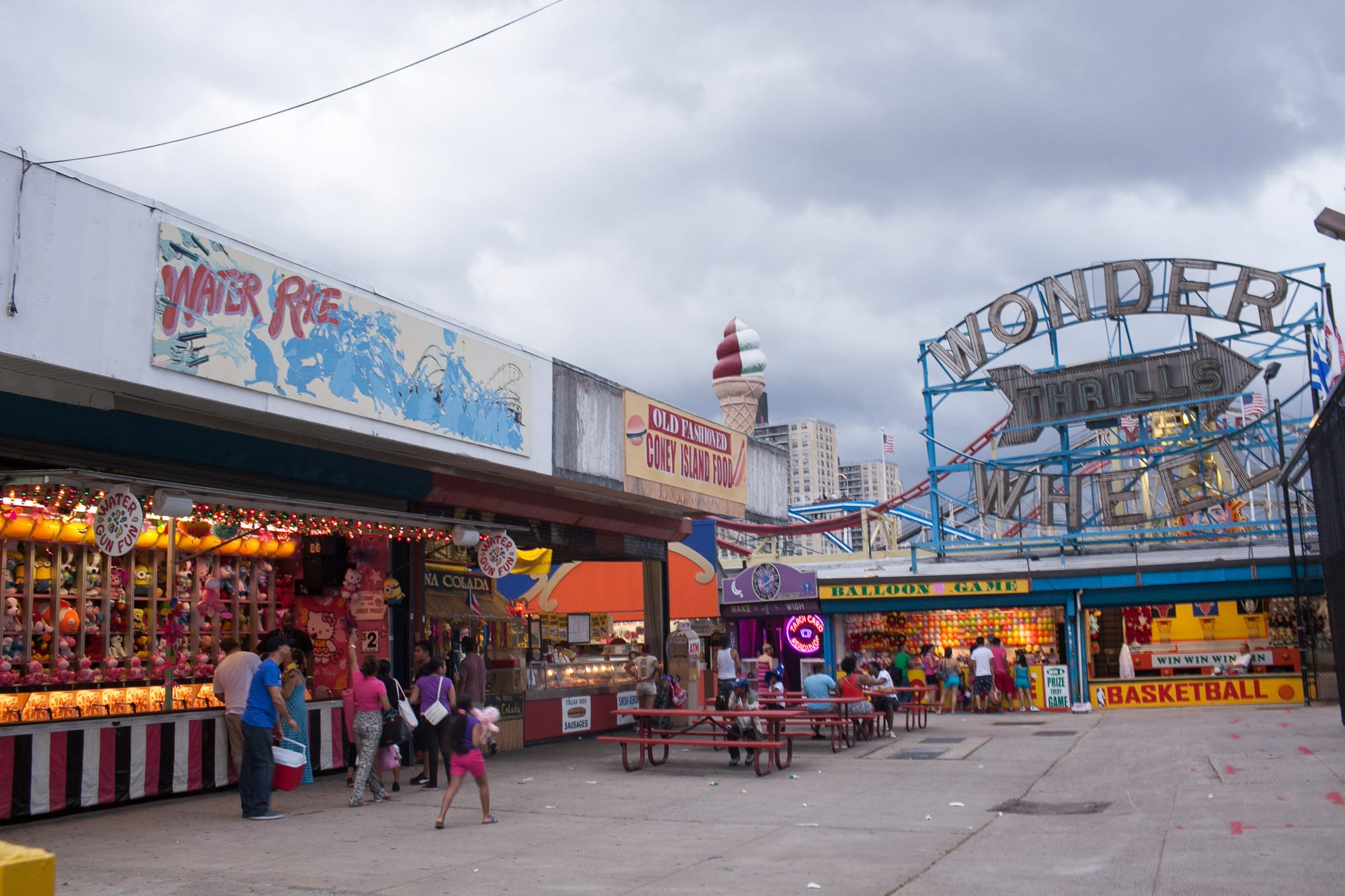Coney Island, New York.