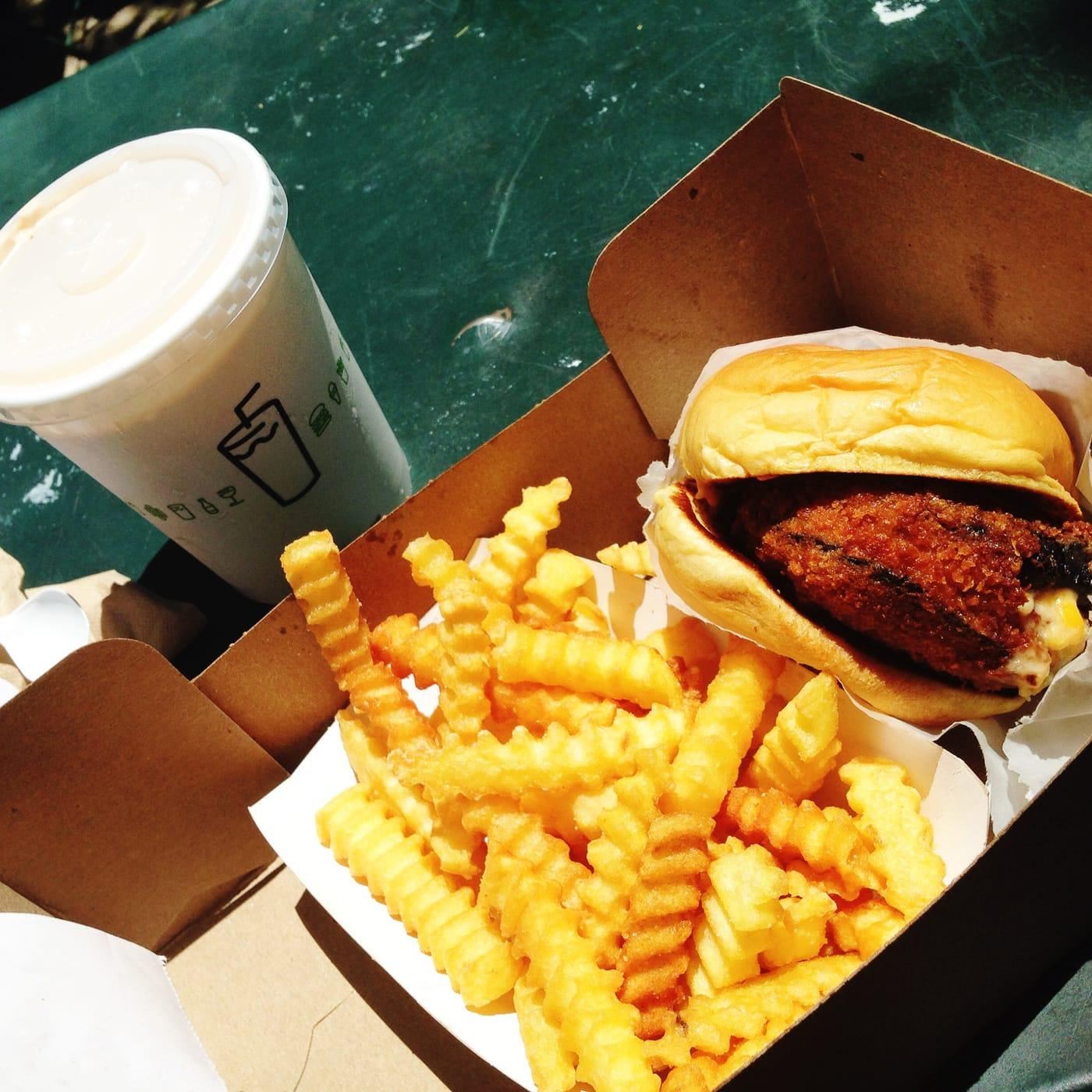Shroom Burger at Shake Shack