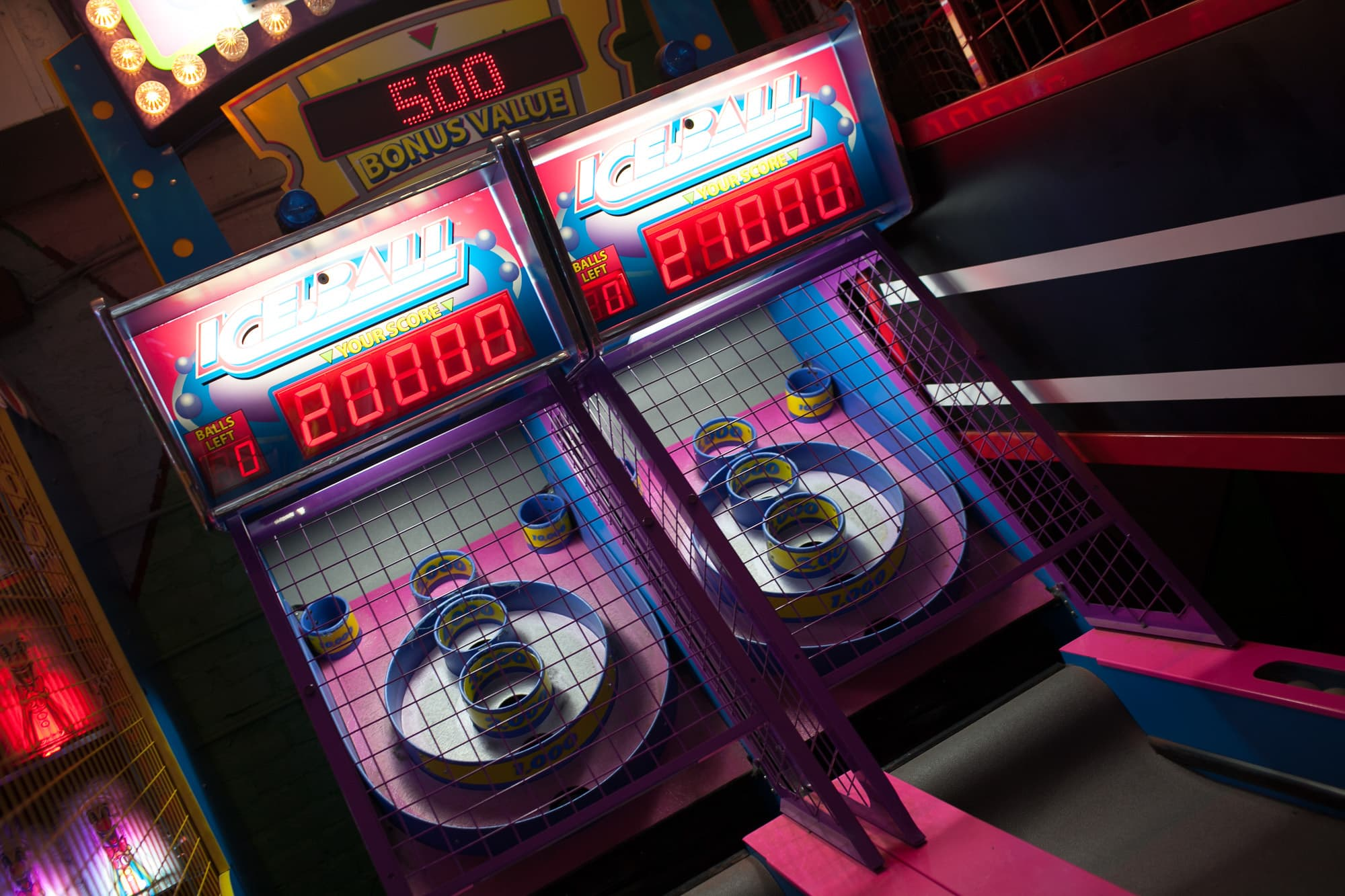 Skeeball at Chinatown Arcade