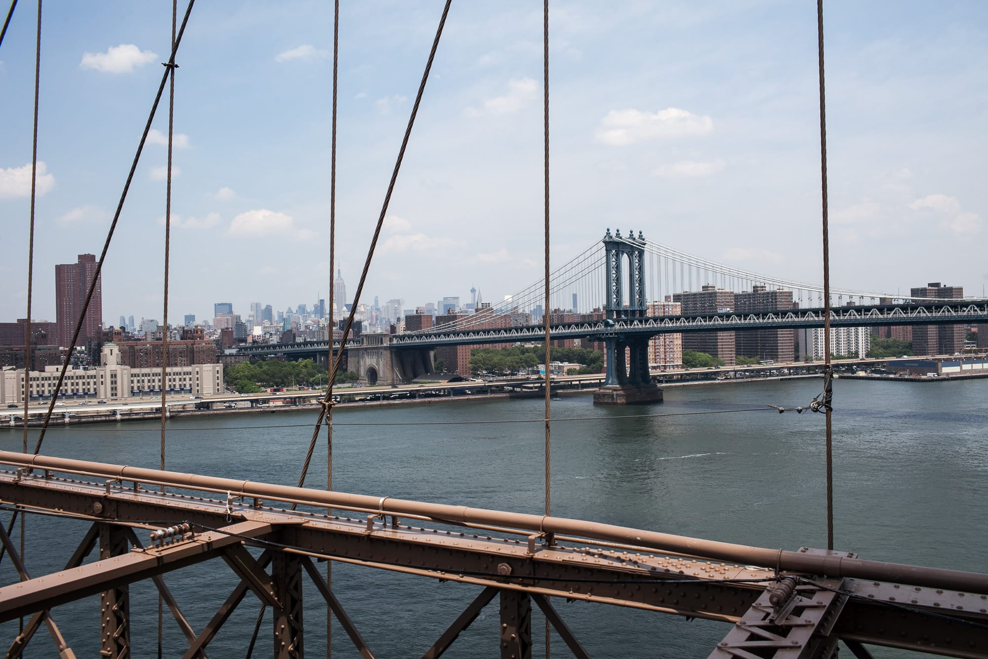 Life list item: Walking across the Brooklyn Bridge. | WALK ACROSS THE BROOKLYN BRIDGE