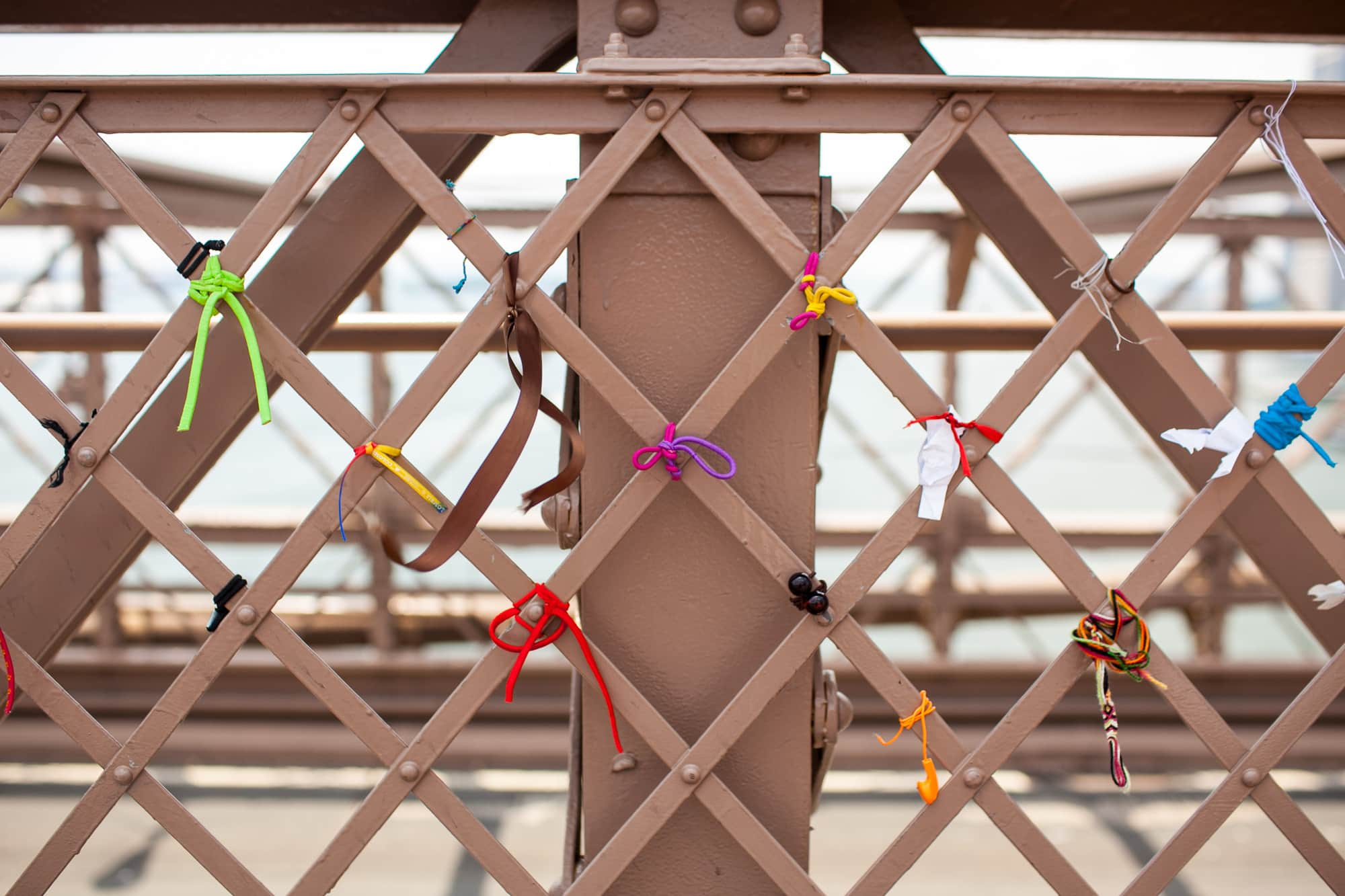 Life list item: Walking across the Brooklyn Bridge.   WALK ACROSS THE BROOKLYN BRIDGE