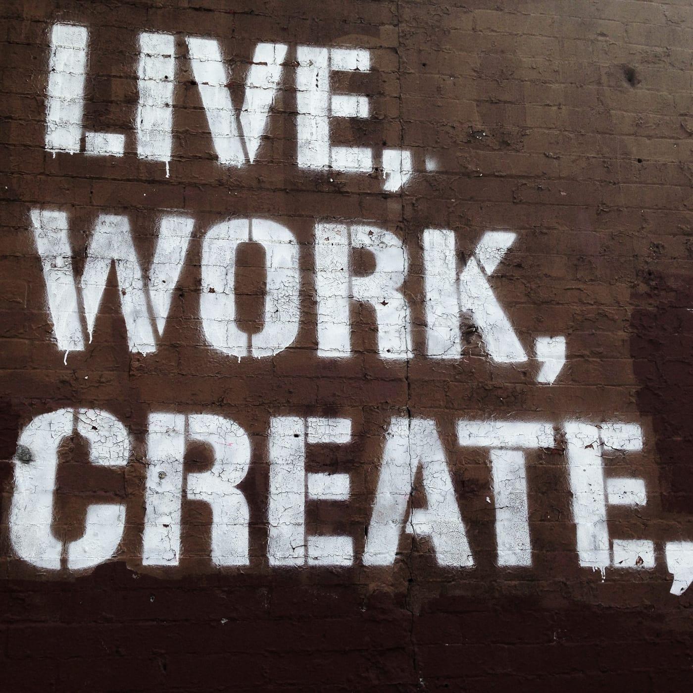 Live, Work, Create in Park Slope, Brooklyn.