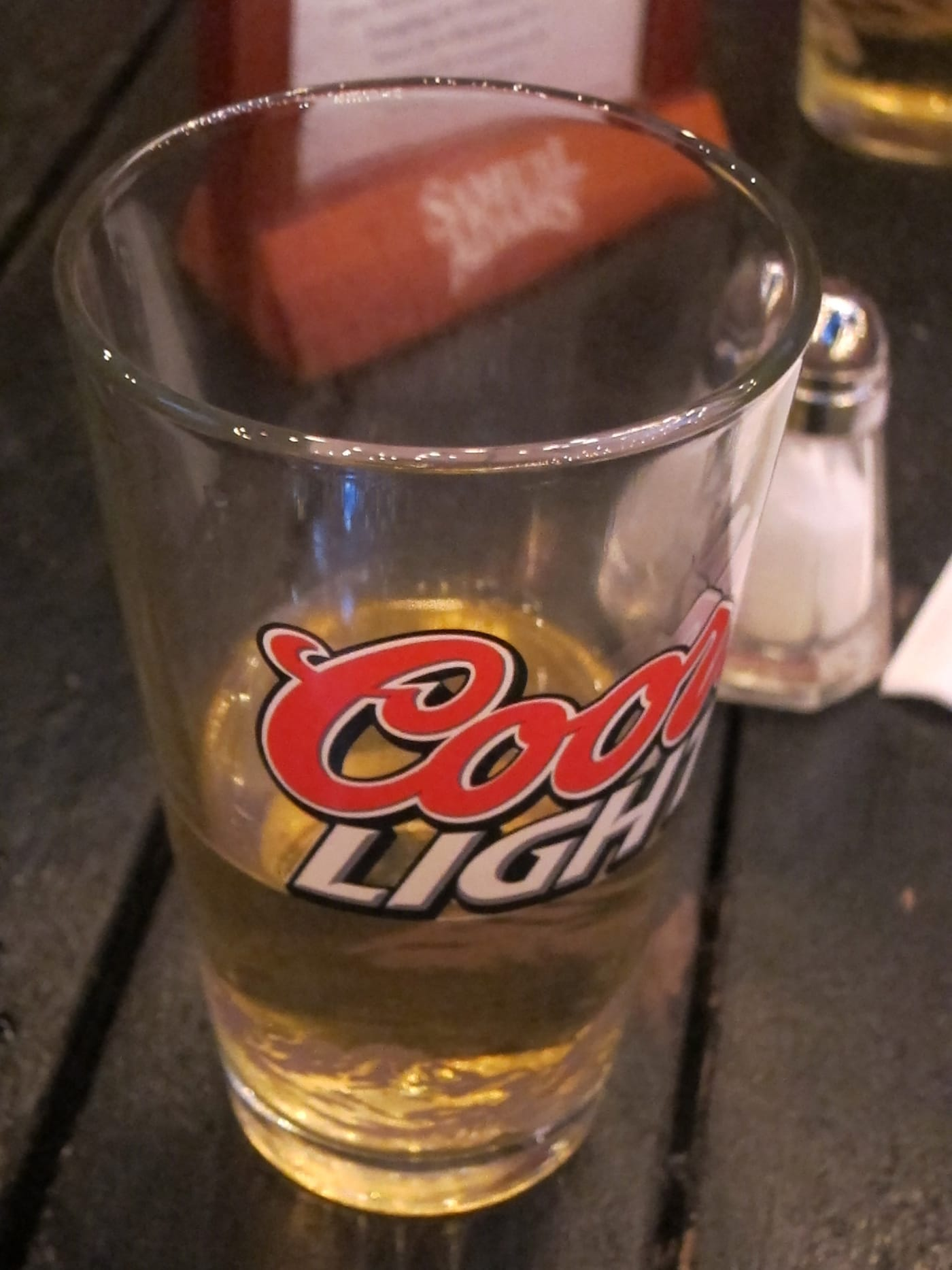 Beer at Wing Bar