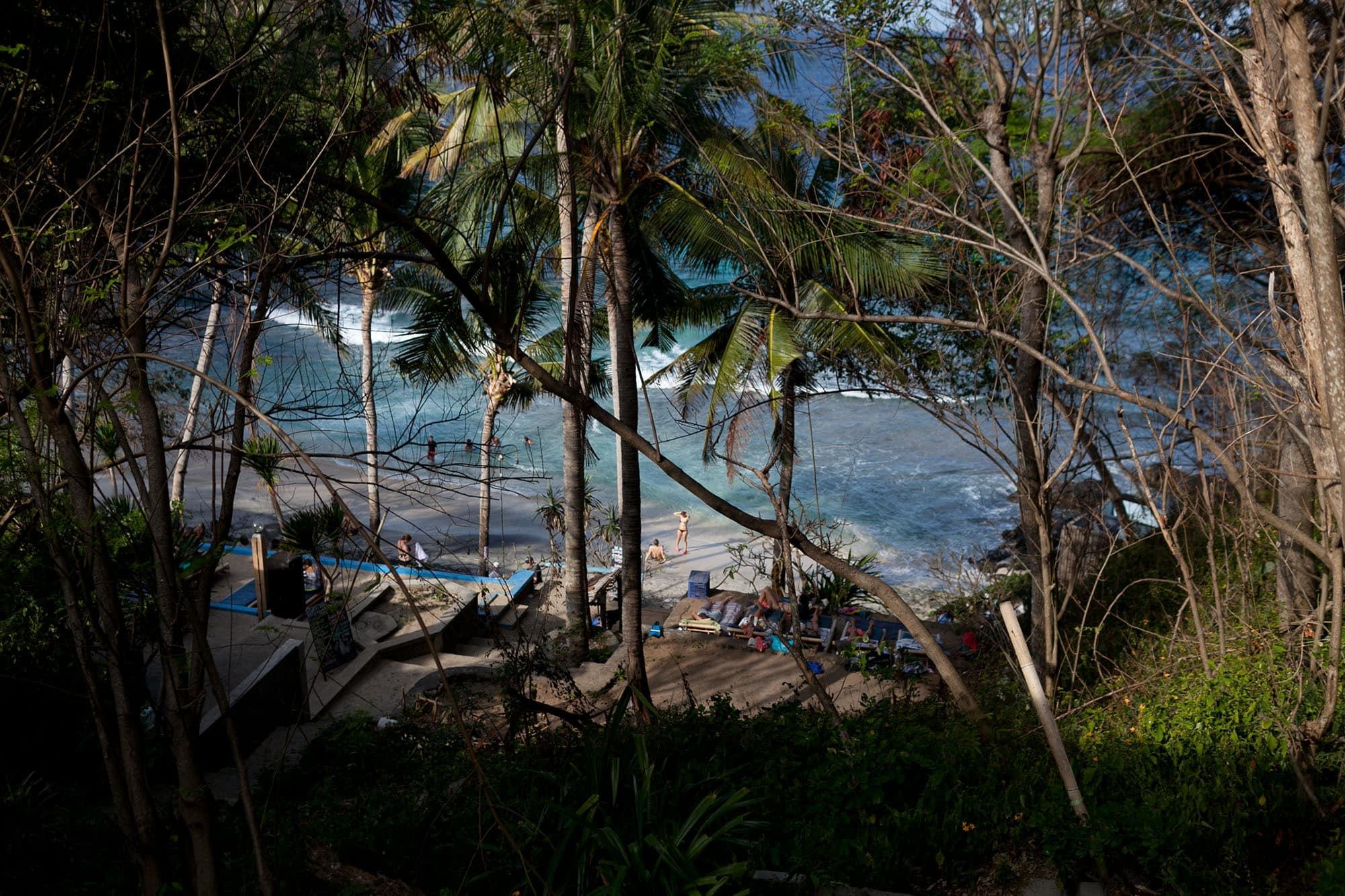 Blue Lagoon in Padang Bai, Bali, Indonesia.