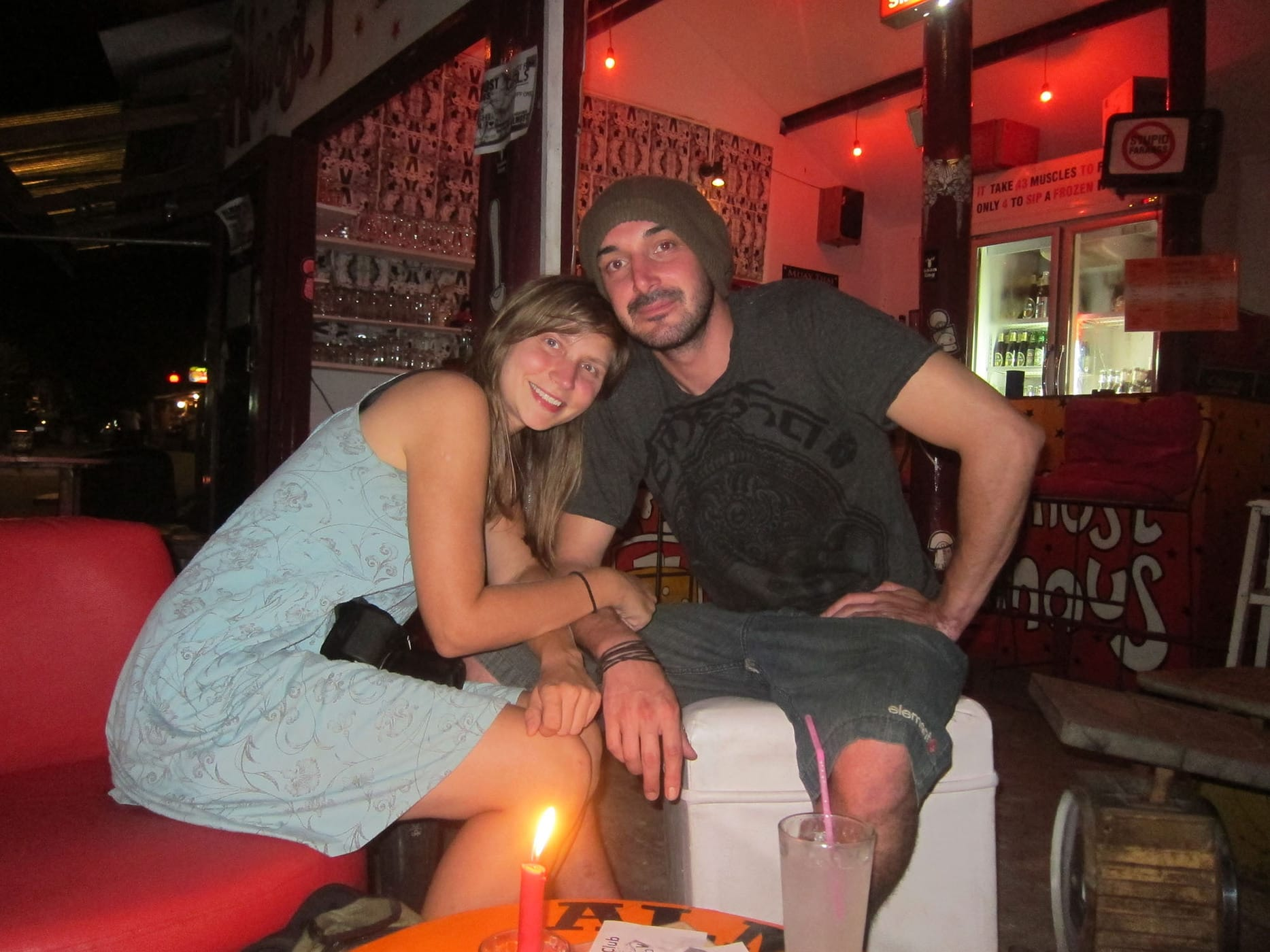 Me and Beanie in Pai, Thailand