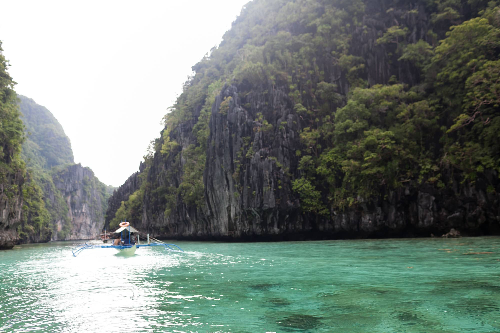 Palawan Island hopping tour A in El Nido, Philippines