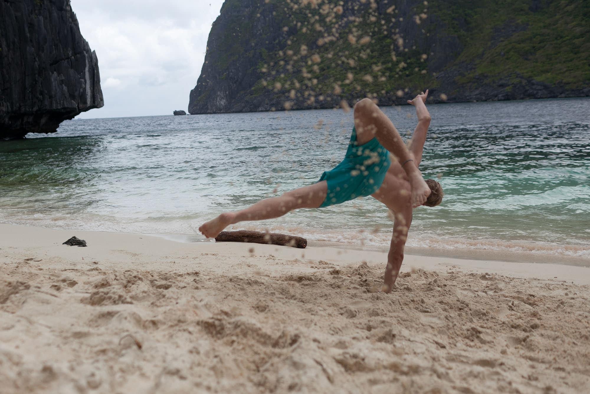 Palawan Island hopping tour C in El Nido, Philippines