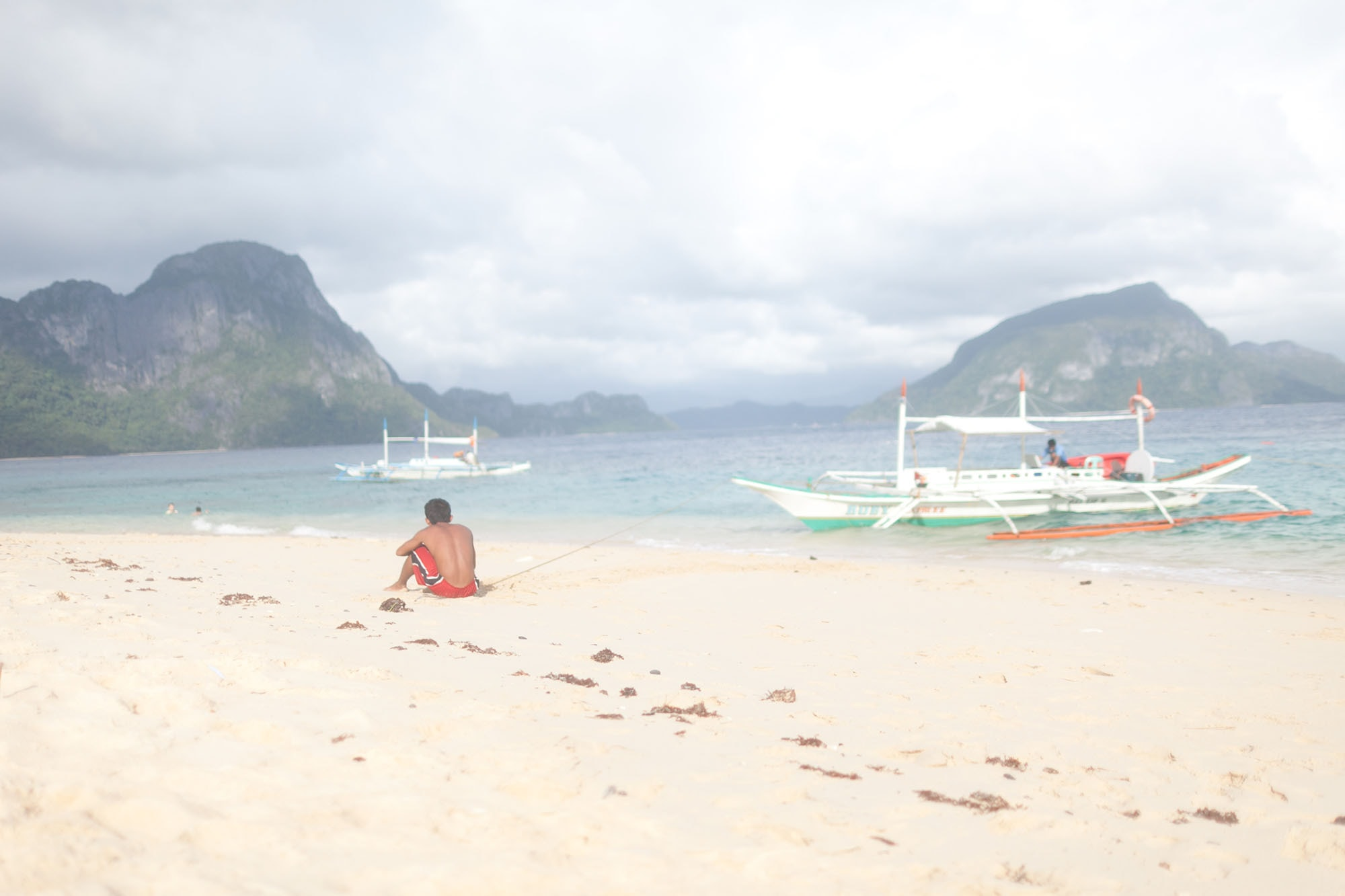 Palawan Island hopping tour C in El Nido, Philippines