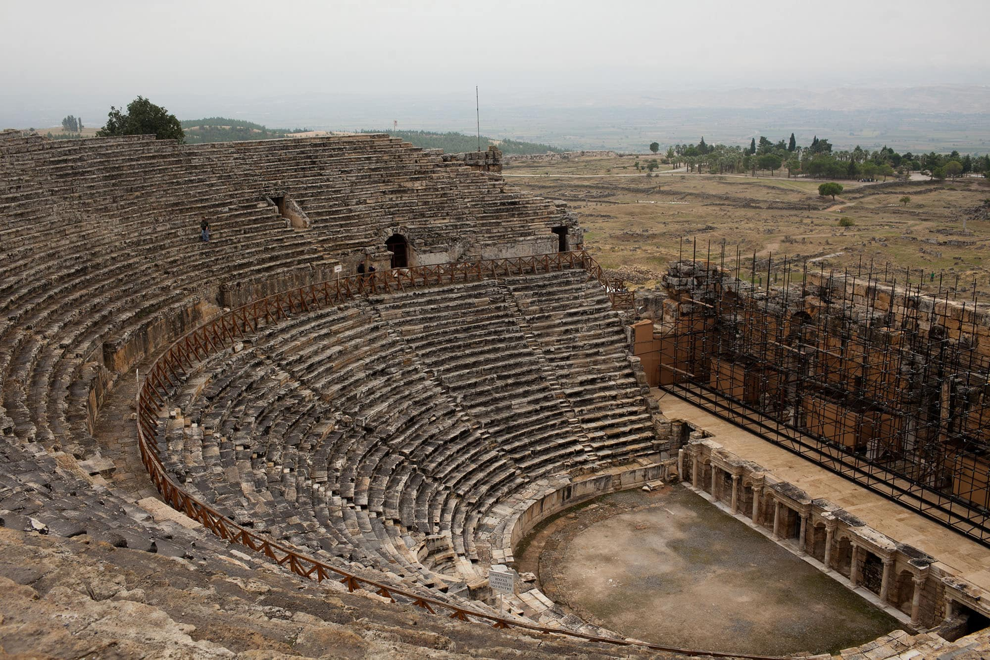 Hierapolis at Pamukkale, Turkey