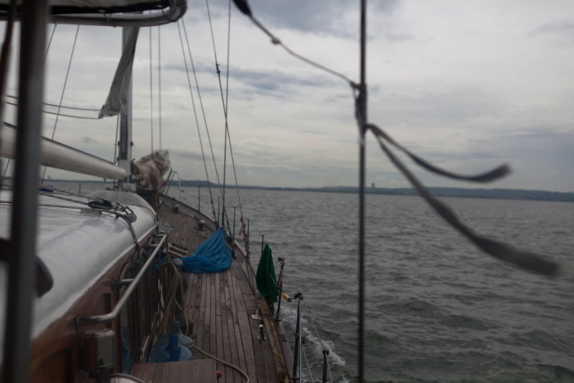 Sailing from Panama to Colombia.Sailing trip from Panama to Cartagena, Colombia on the Gitana III