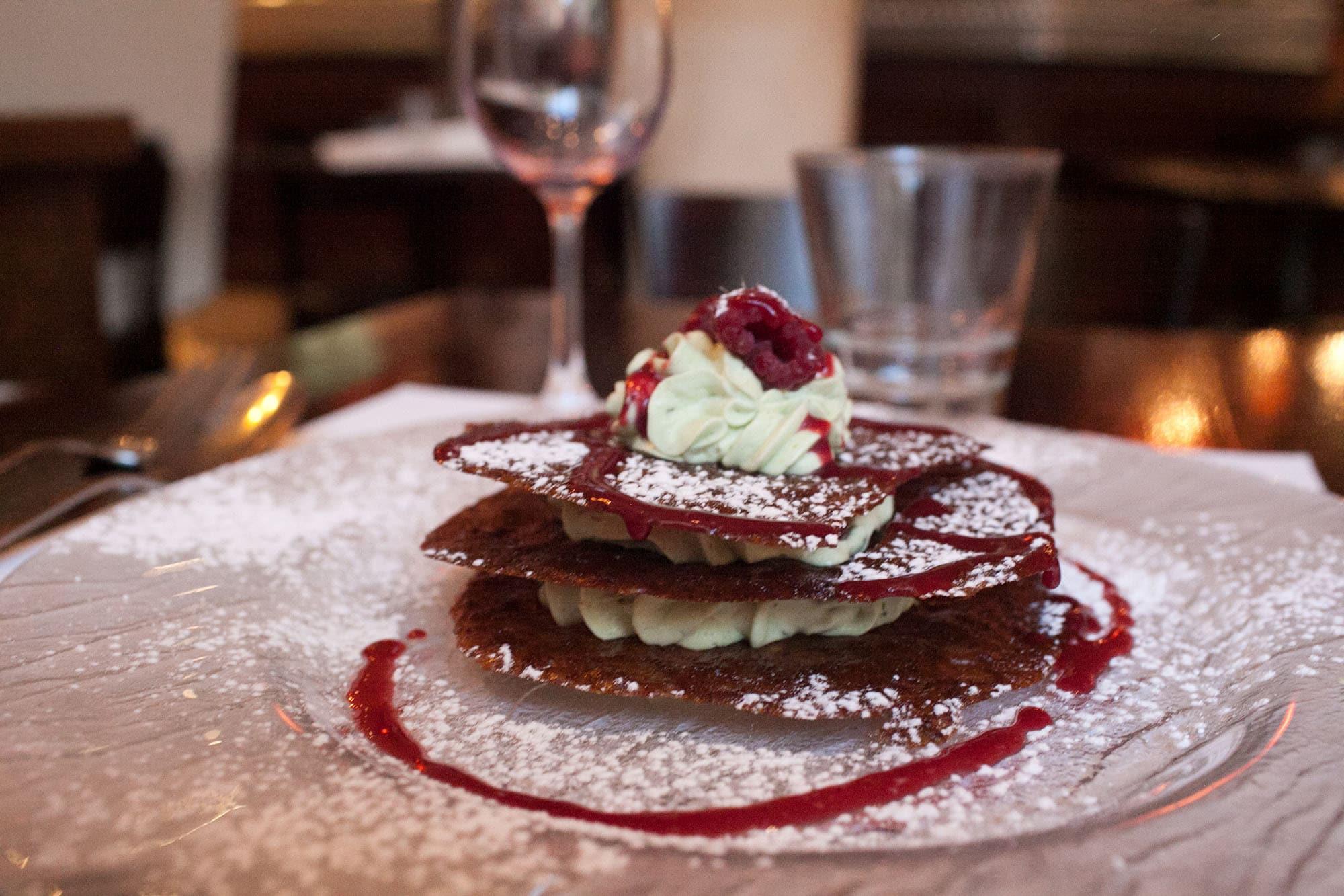 Nutella crepe in Paris