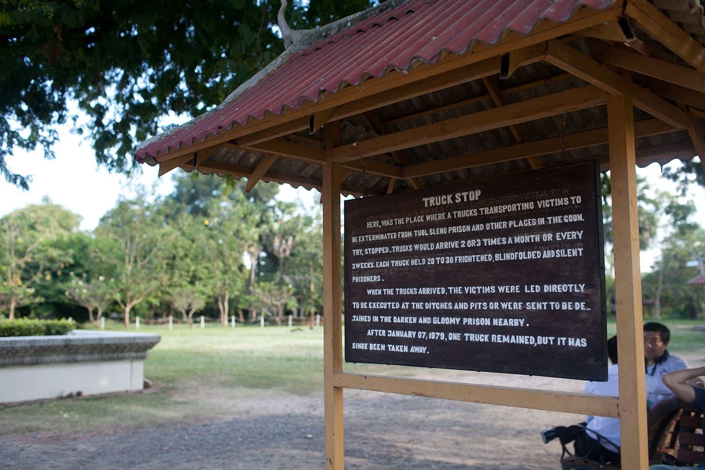Killing Fields in Phnom Penh, Cambodia