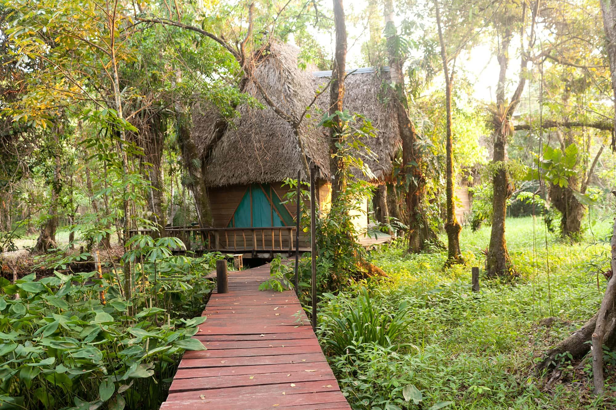 Casa Perico in Rio Dulce, Guatemala