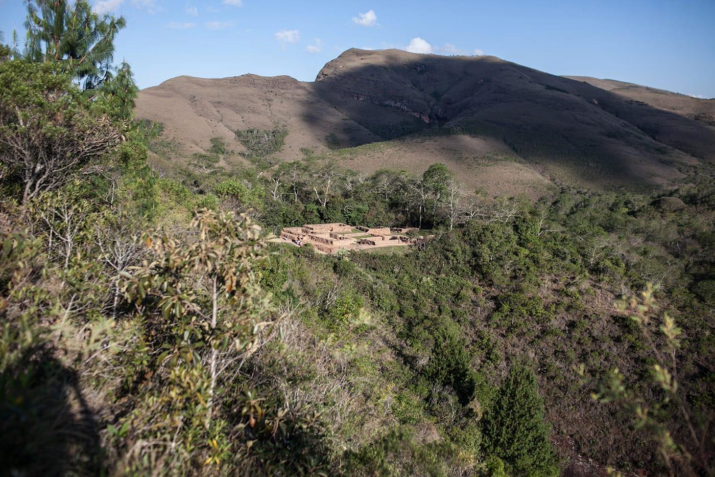 El Fuerte archaeological religious site in Samaipata, Bolivia