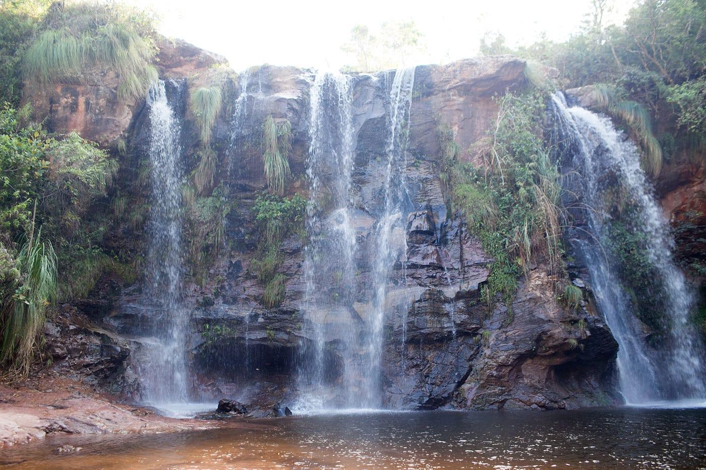 Cascadas de Cuevas waterfalls in Samaipata, Bolivia
