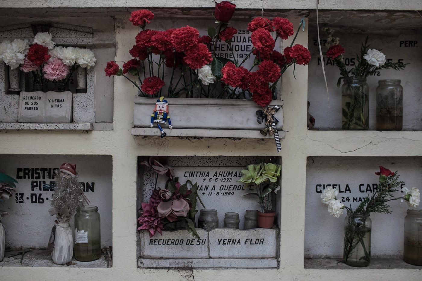 Cemetery in Santiago, Chile