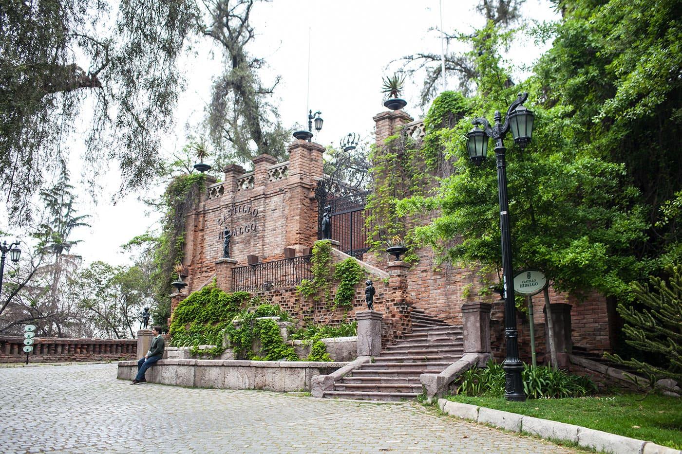 Santa Lucía Hill in Santiago, Chile