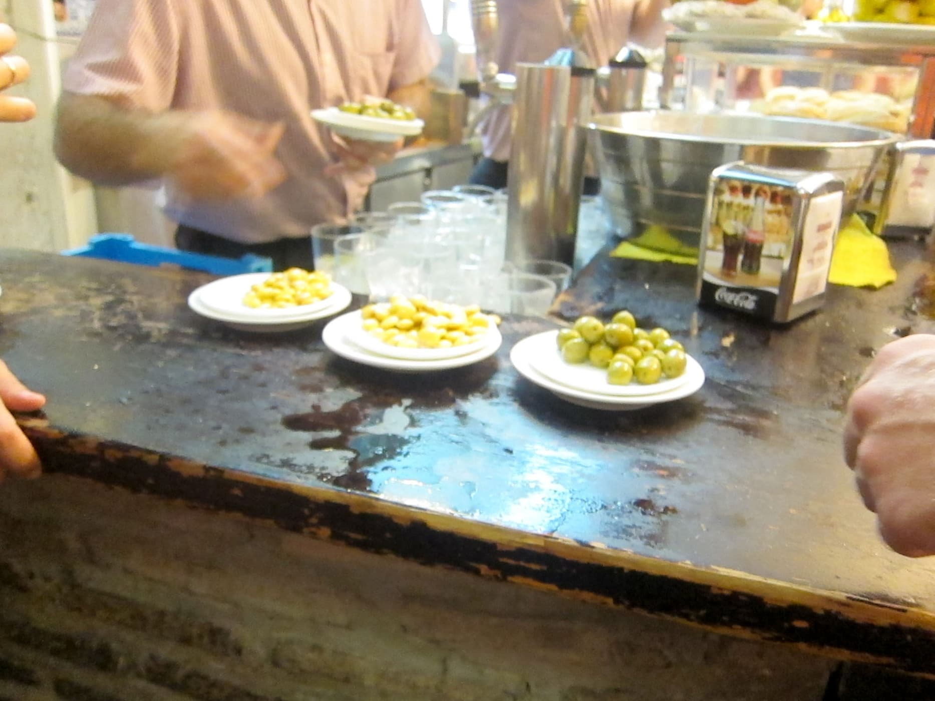 Tapas crawl in Sevilla, Spain