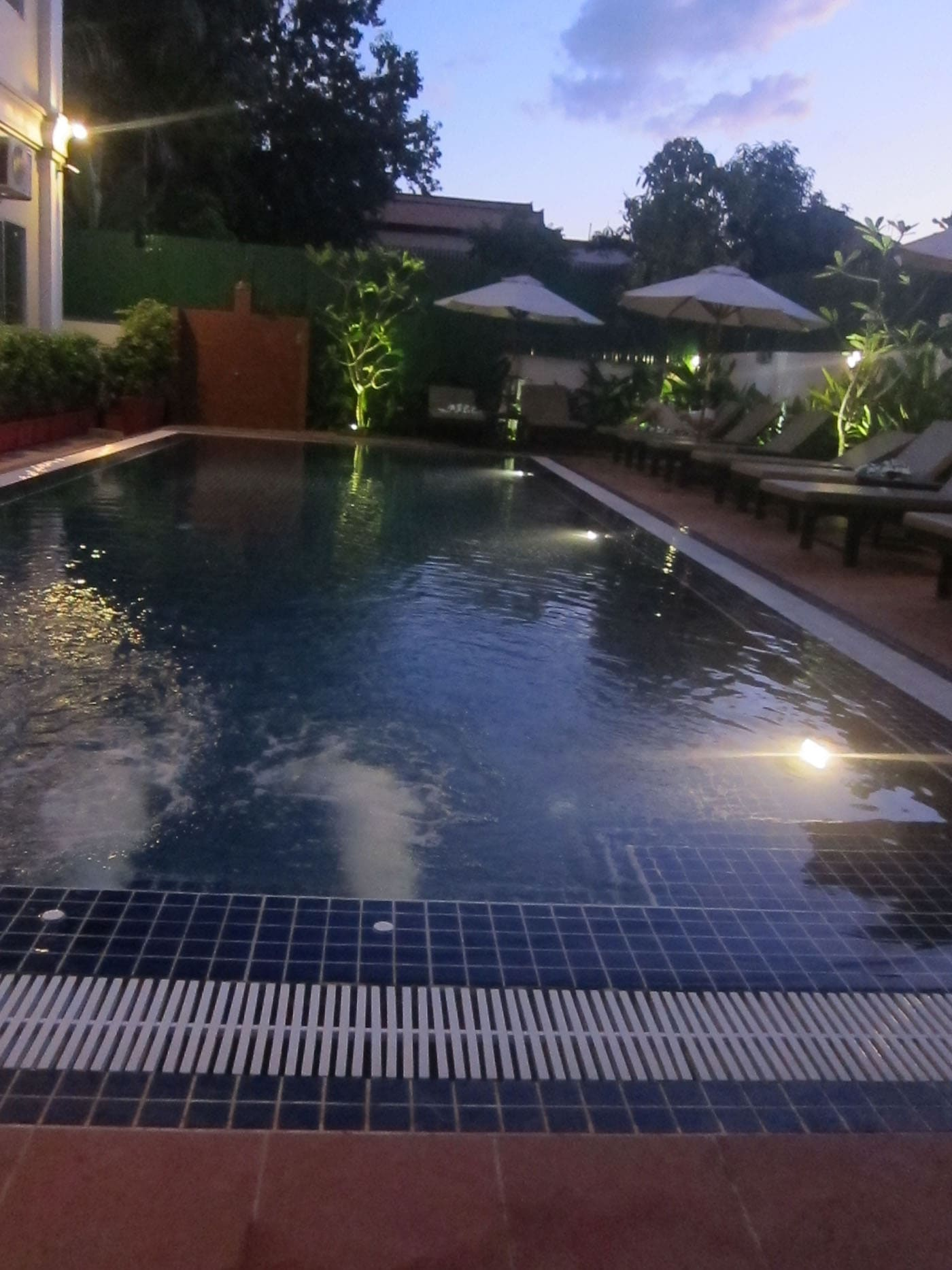 Pool in Siem Reap, Cambodia
