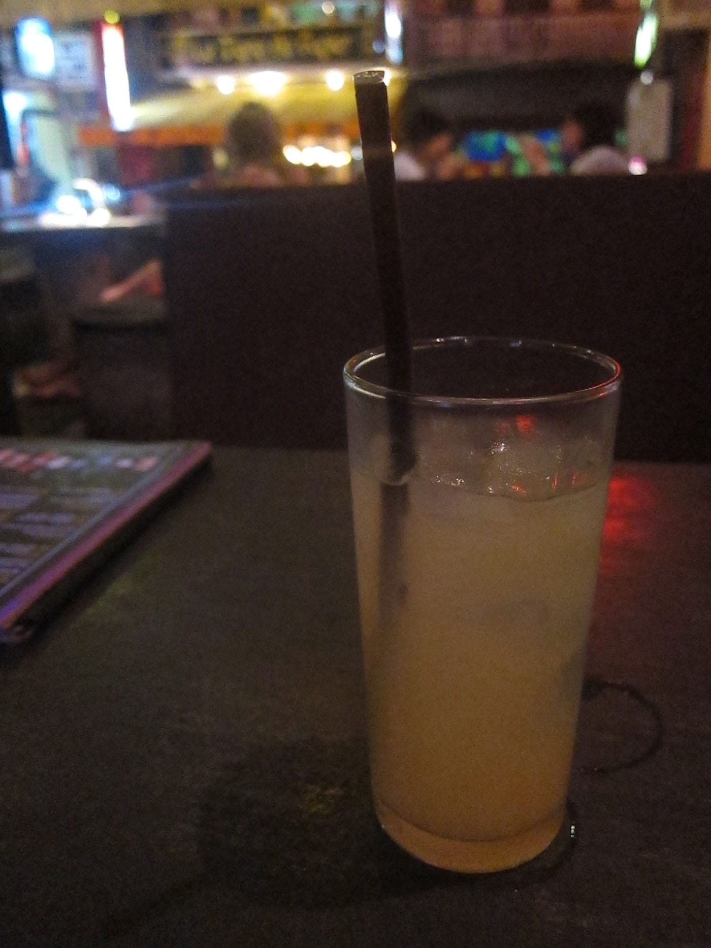 Snow White cocktail in Siem Reap, Cambodia
