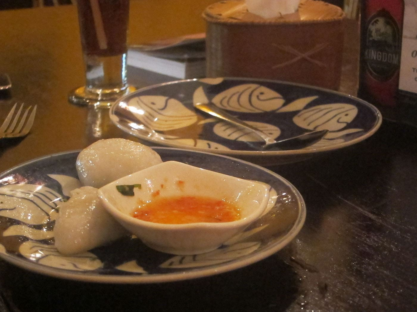 Dumplings in Siem Reap, Cambodia