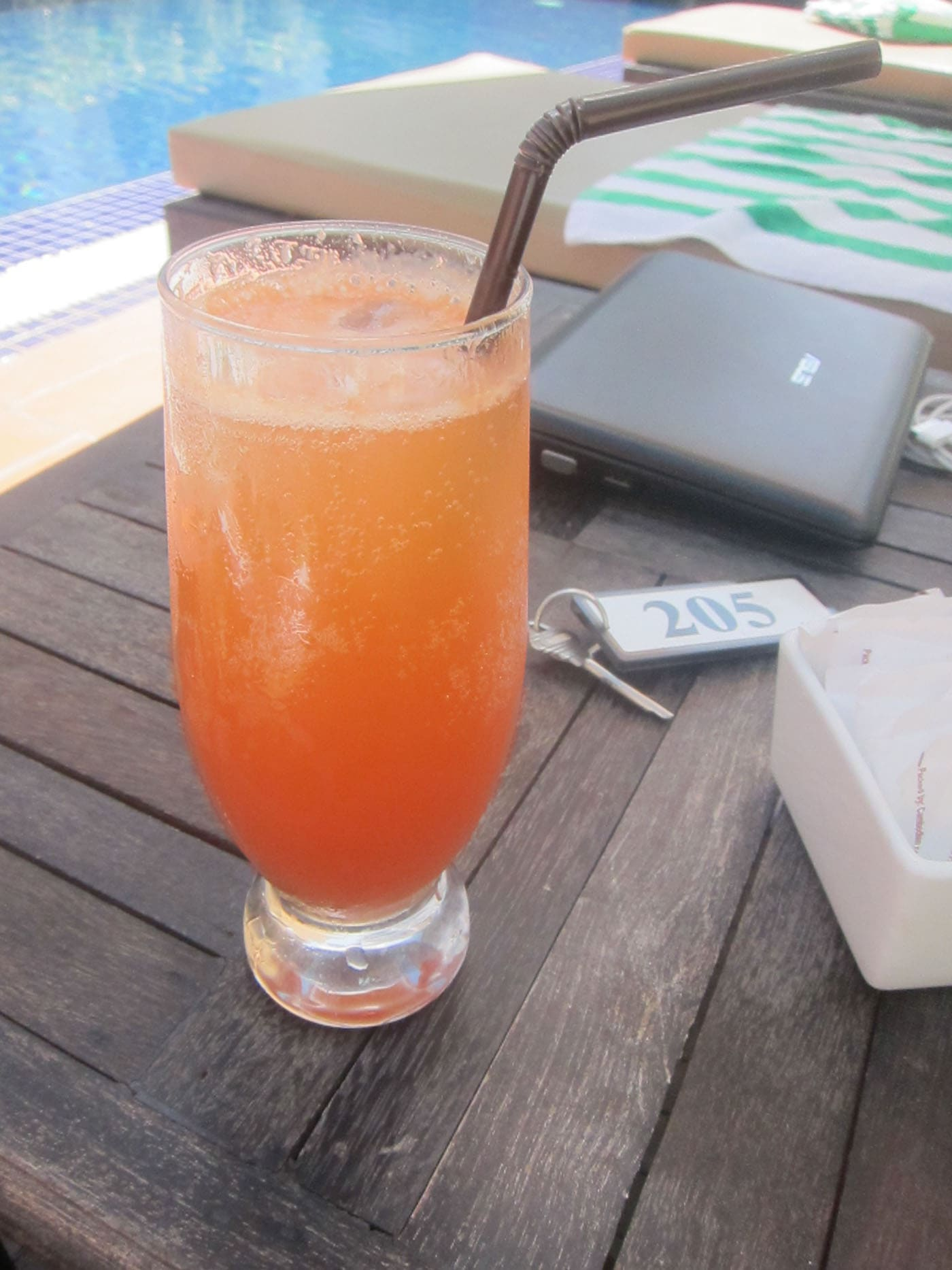 Fruit punch in Siem Reap, Cambodia