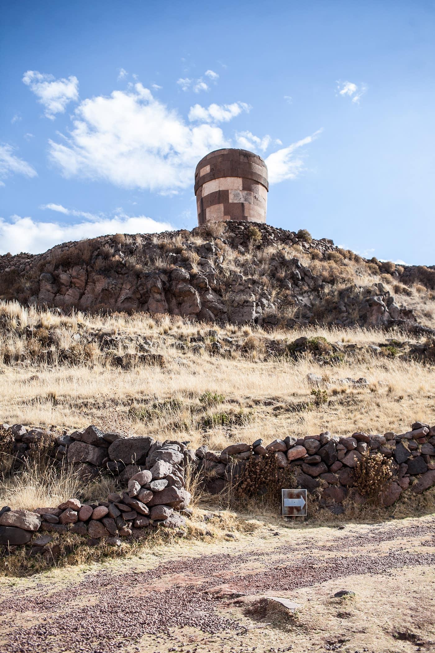 Sillustani - pre-Inkan burial in Puno, Peru