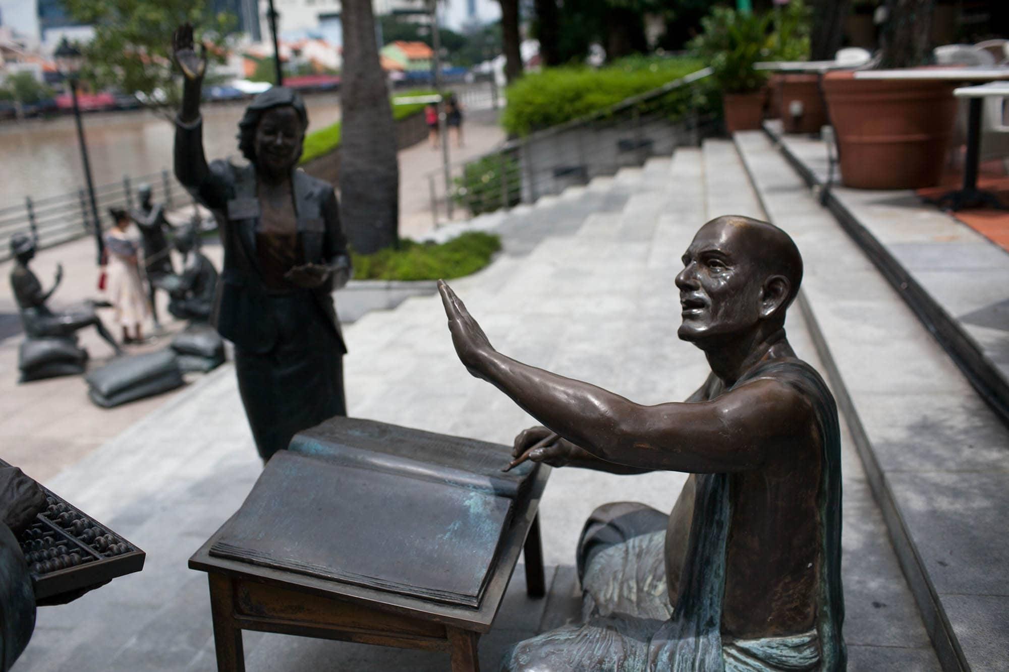 Sculptures in Singapore