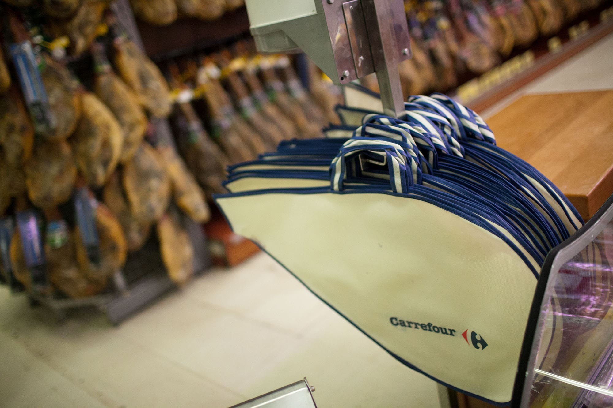 Carrefour in Valencia, Spain