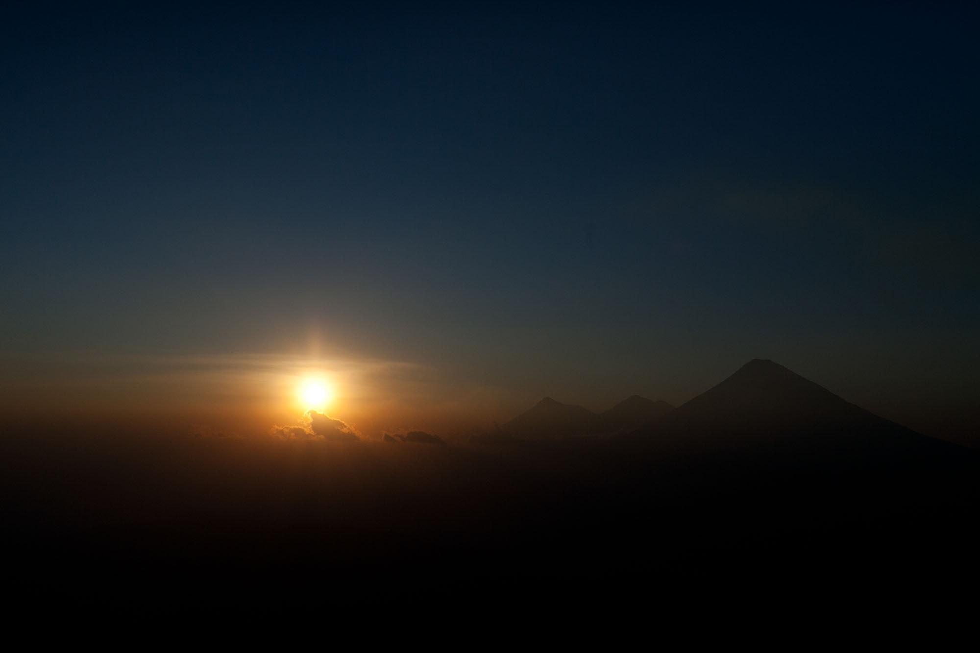 Hiking Volcan Pacaya in Antigua, Guatemala