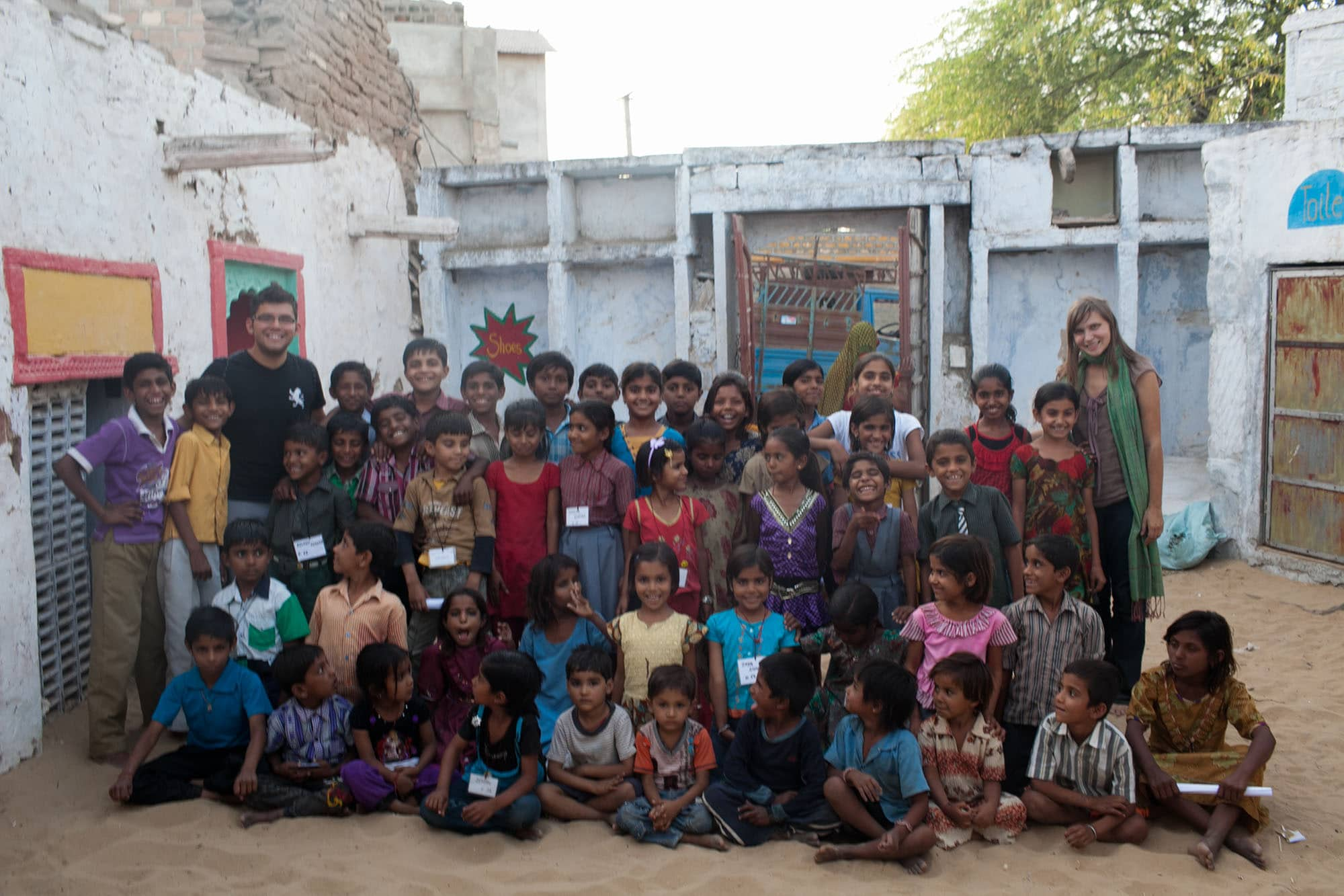 Volunteering at Sambhali Trust in Setrawa, India