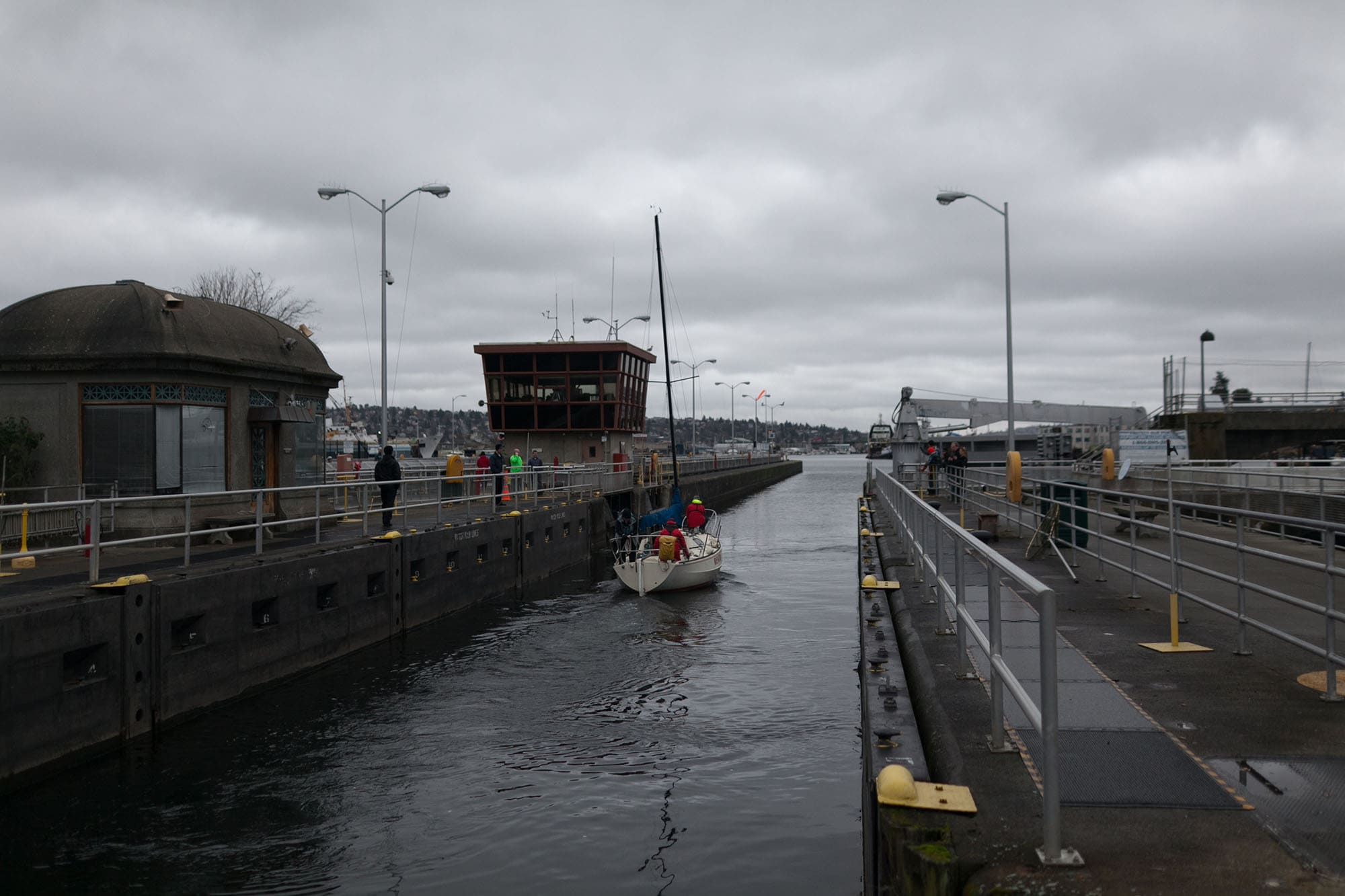 The Locks in Seattle, Washington.