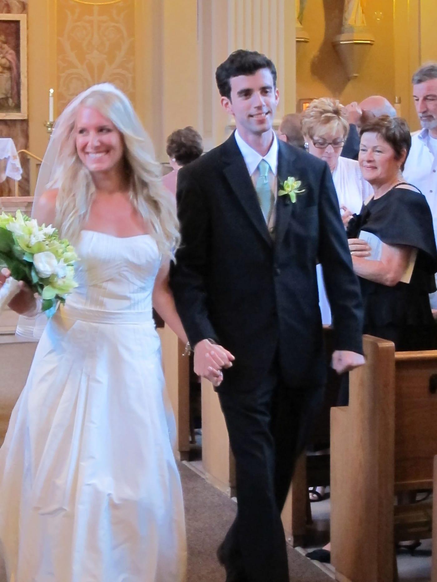 Sheila and John's wedding