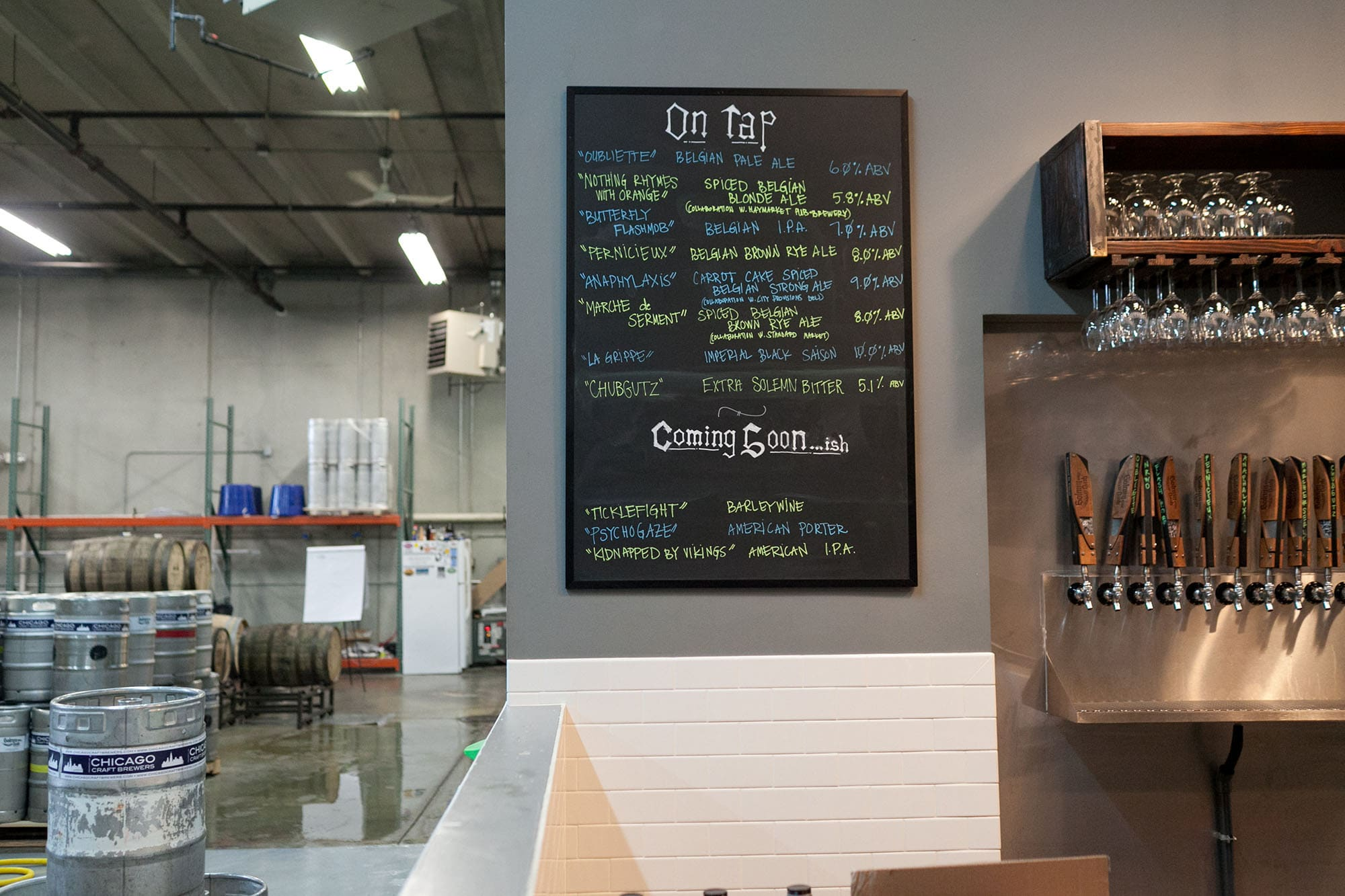 Solemn Oath Brewery in Naperville, Illinois