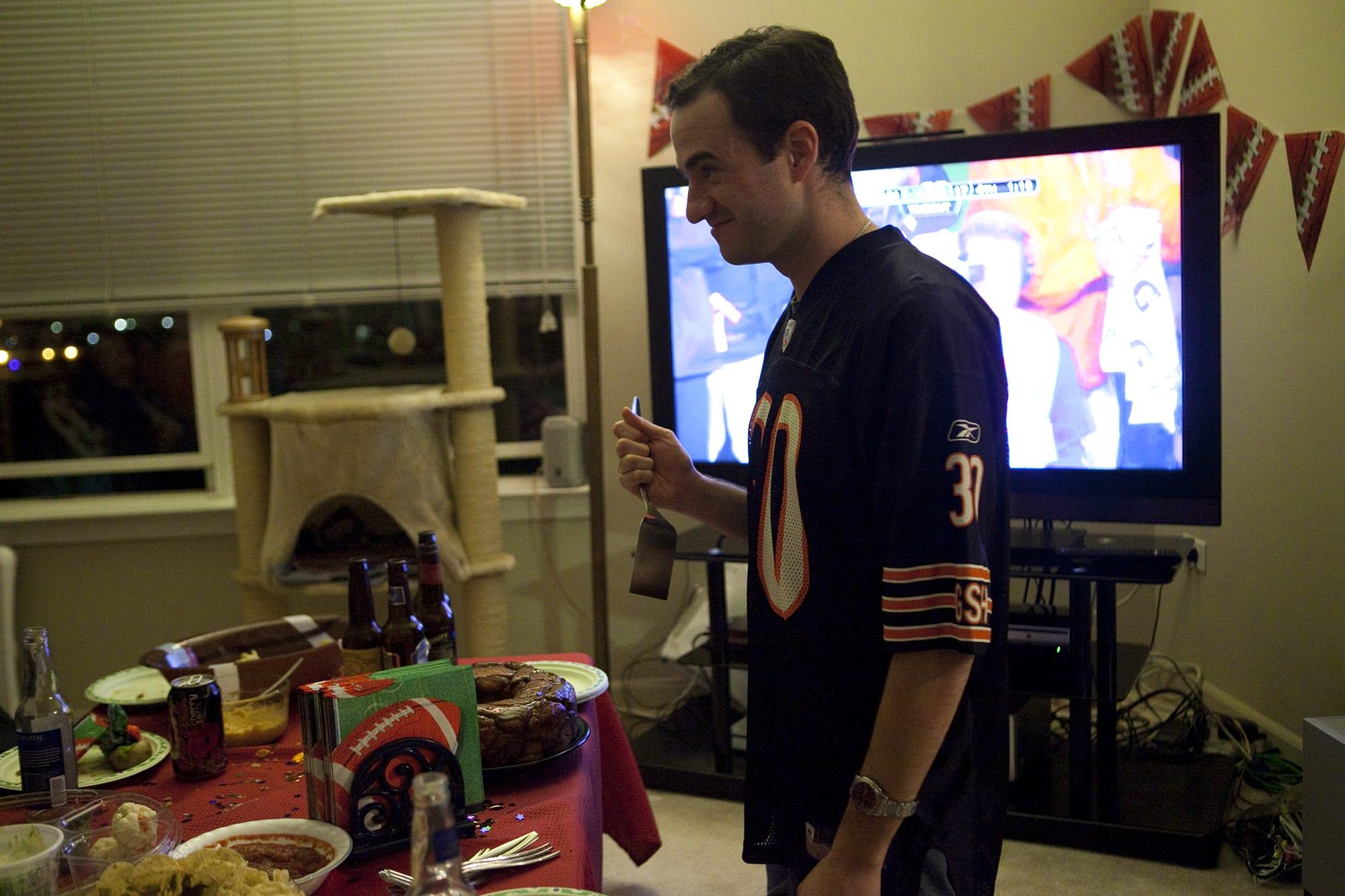 Super Bowl/Puppy Bowl Party