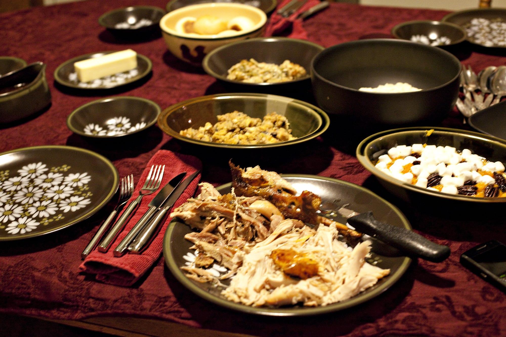 Cooking Thanksgiving Dinner - Thanksgiving dinner