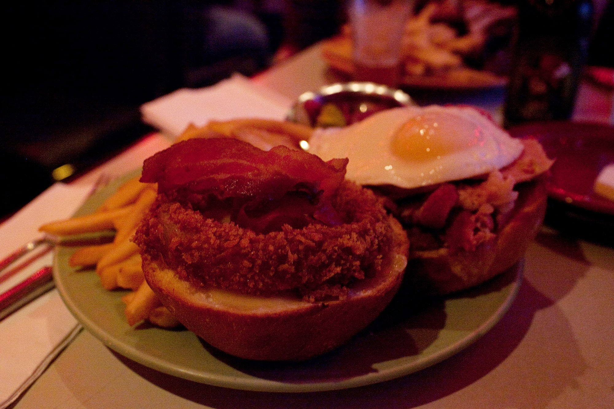 Three Little Piggy Sandwich at The Silver Palm in Chicago, Illinois