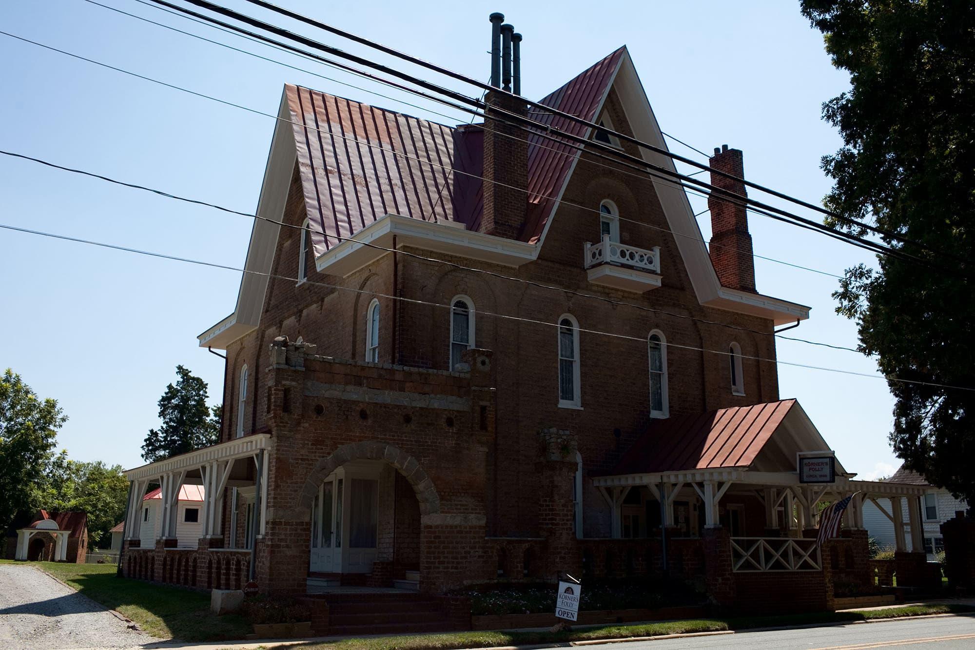 Virginia/North Carolina Road Trip - Korner's Folly