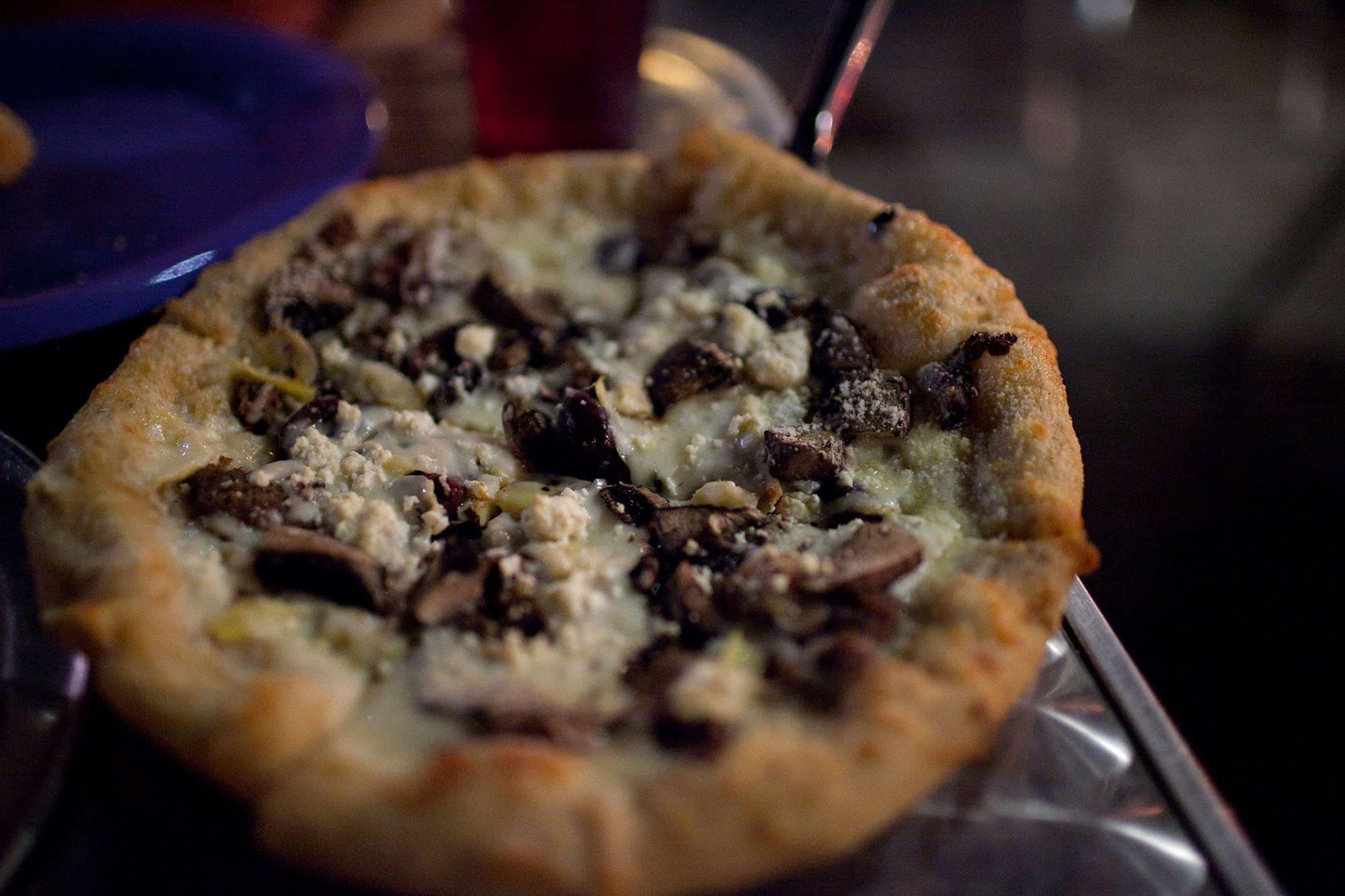Virginia/North Carolina Road Trip - Philosopher's Pizza at Mellow Mushroom