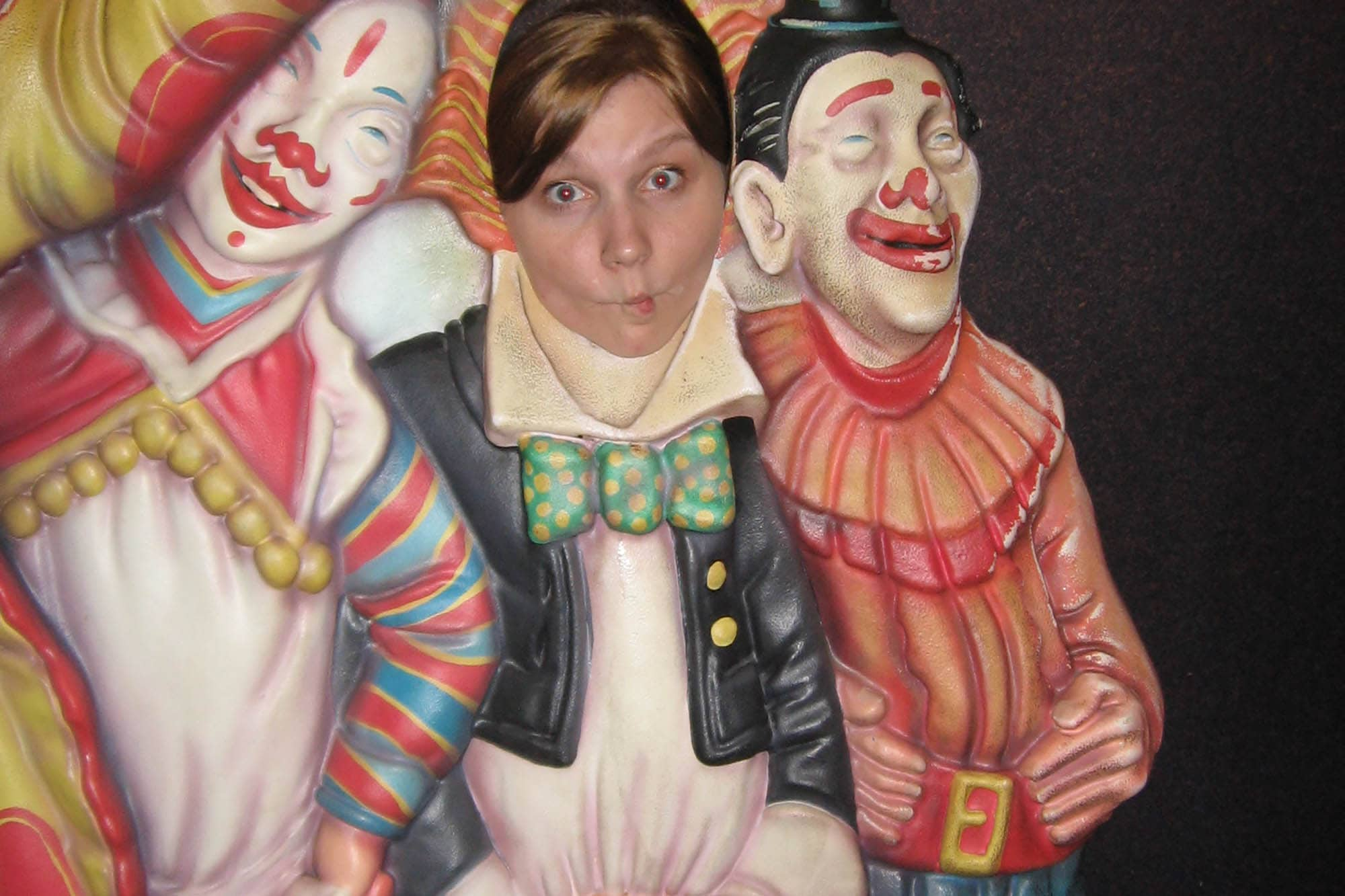 Clowning around at the Museum of Science and Industry in Chicago