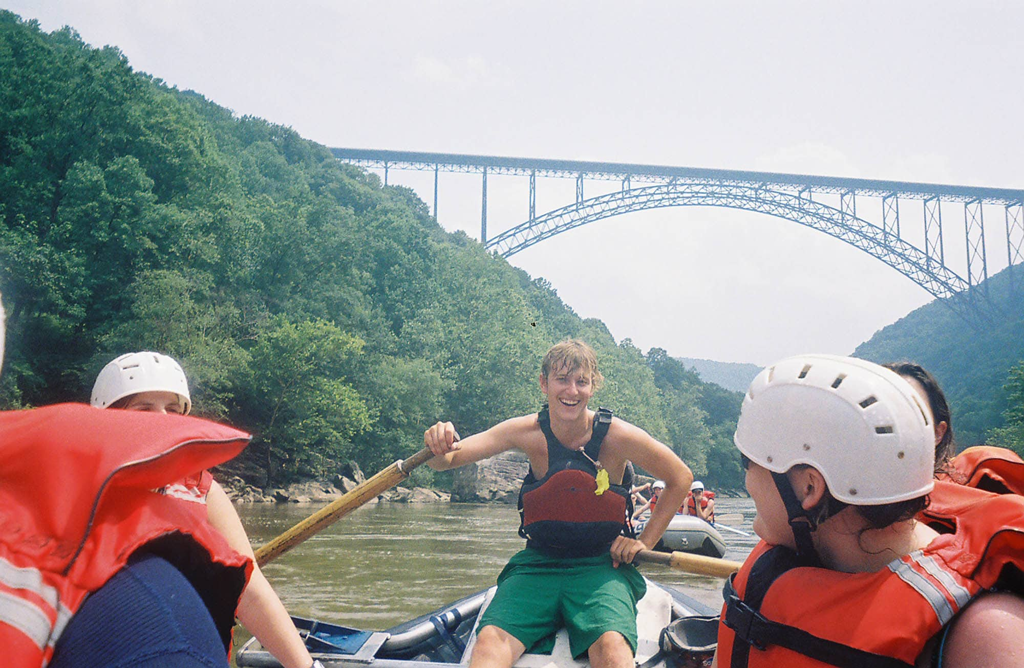 White Water Rafting on West Virginia's Lower New River
