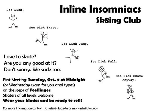 Inline Insomniacs Poster