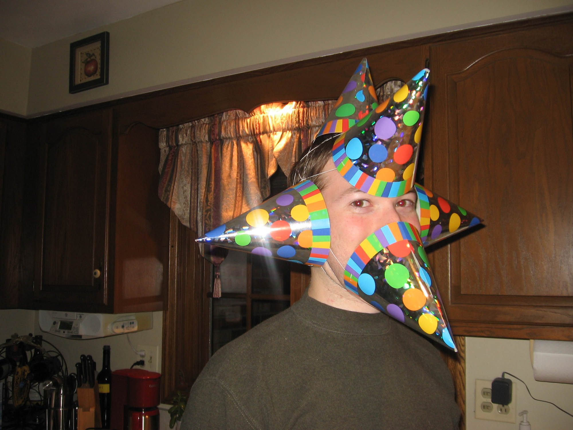 Wearing multiple party hats
