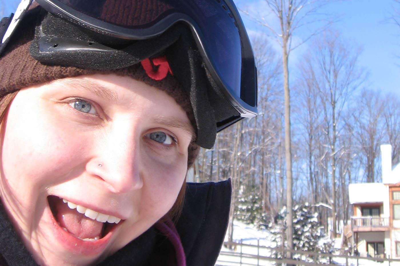 My first ski trip in Petoskey, Michigan