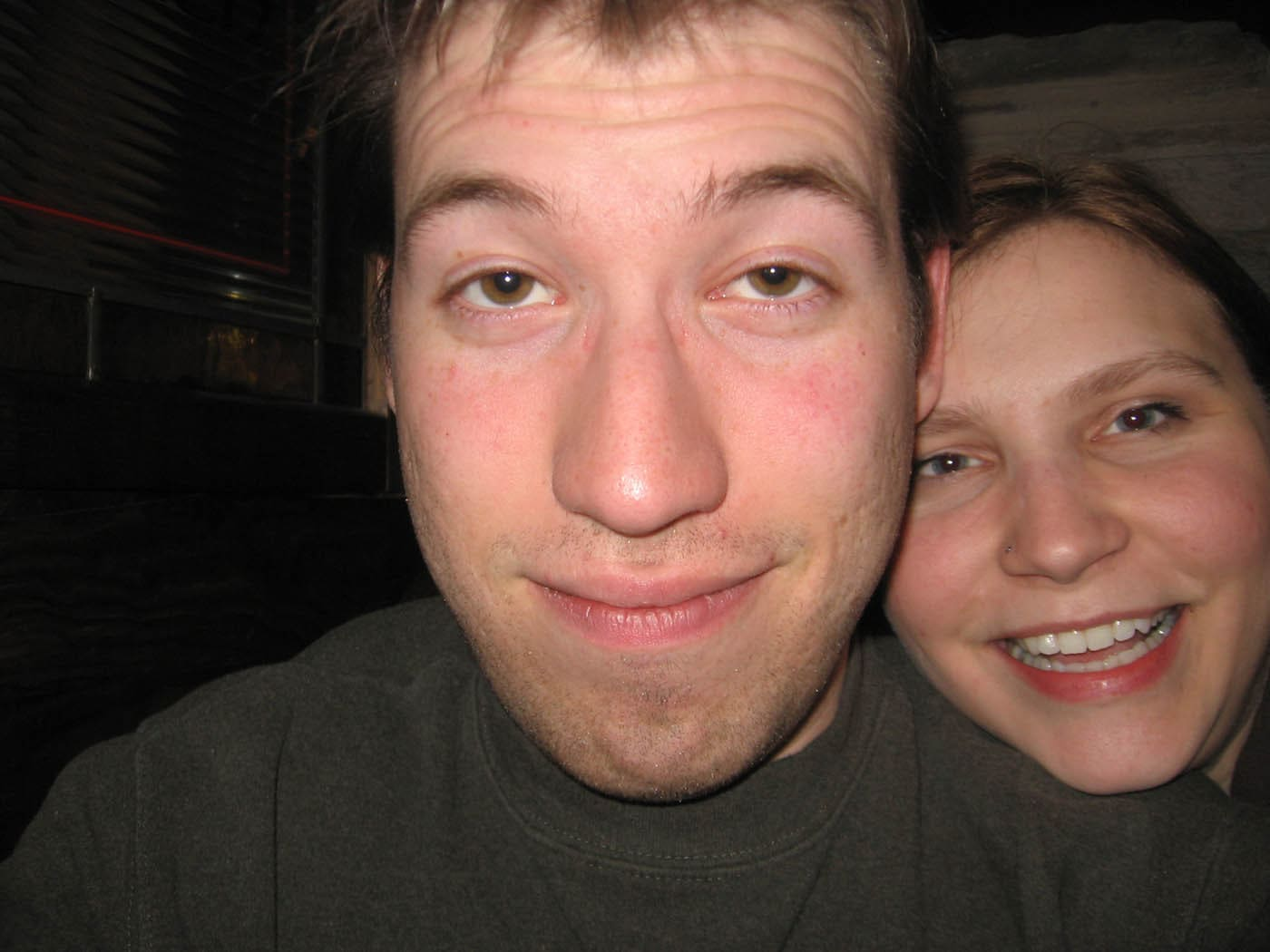 Me and Matt on his birthday