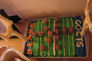 Bears Vs. Colts Super Bowl Cake | Super Bowl 2007