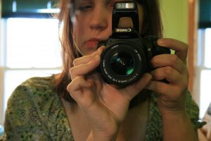 New Canon Rebel DSLR camera