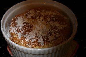Baking a Vanilla Souffle